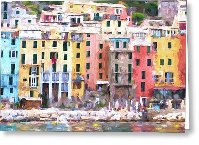 Portovenere I Greeting Card by Michelle Gilders