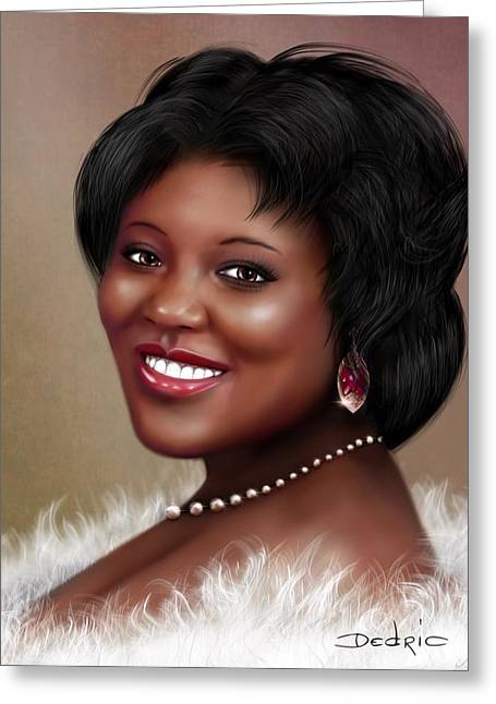 Portrait Commision  Greeting Card