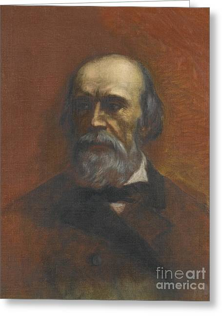 Portrait Of A Man Said To Be Walerjan Greeting Card