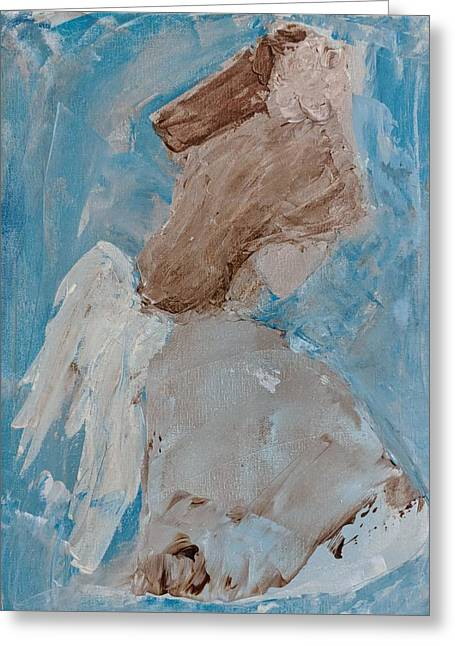 Portrait Of An Angel Greeting Card