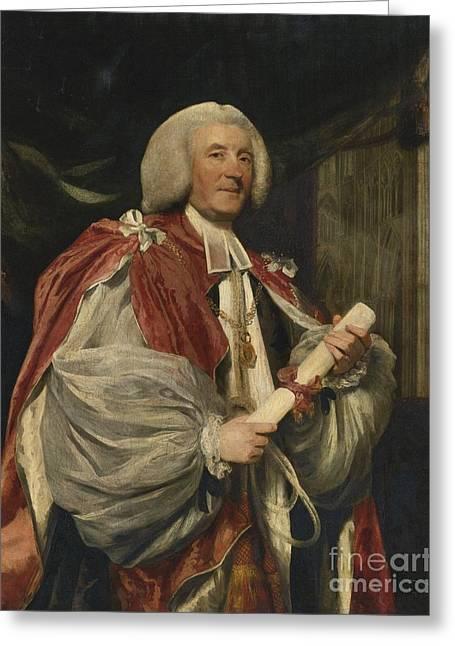 Portrait Of Dr. John Thomas Greeting Card