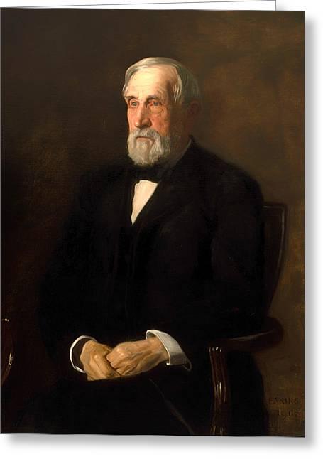 Portrait Of John B Gest Greeting Card