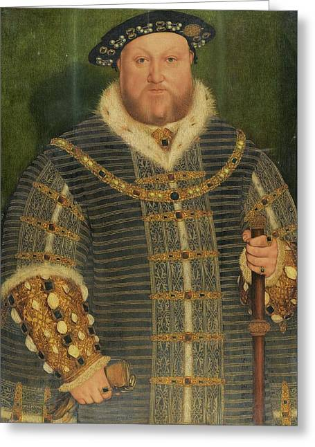 Portrait Of King Henry Greeting Card
