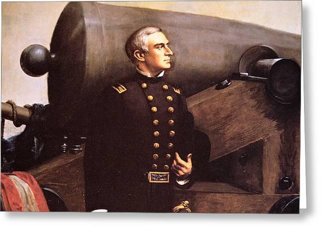 Portrait Of Major Robert Anderson Greeting Card