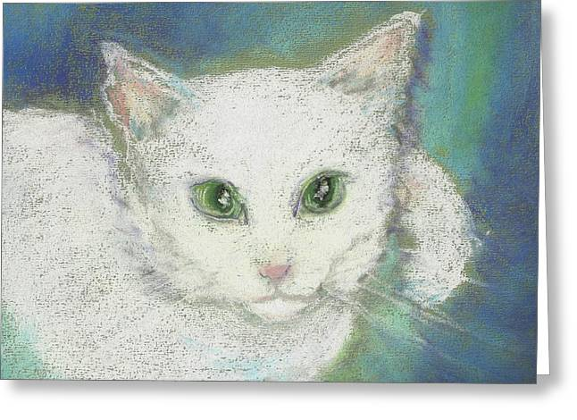 Portrait Of Misty Greeting Card