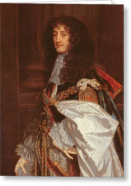 Portrait Of Prince Rupert Greeting Card by Sir Peter Lely