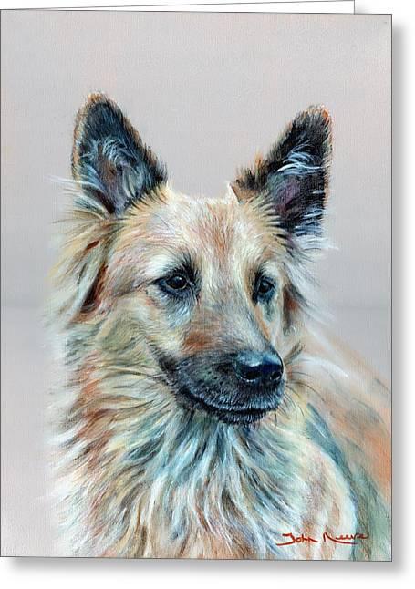 Portrait Of Sasha Greeting Card