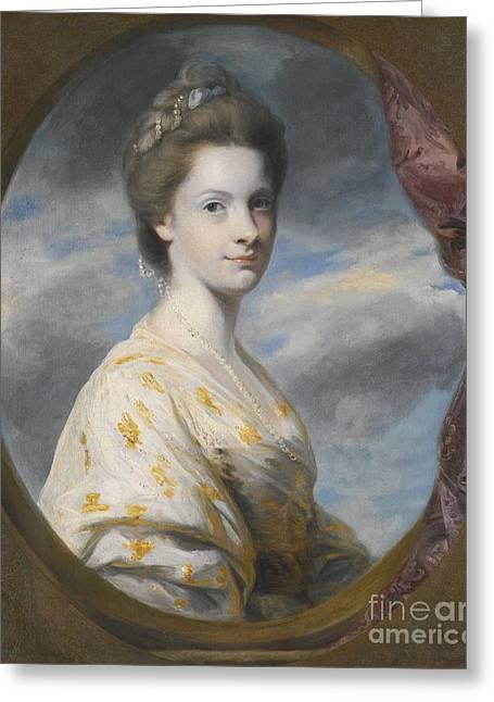 Portrait Of Sophia Greeting Card