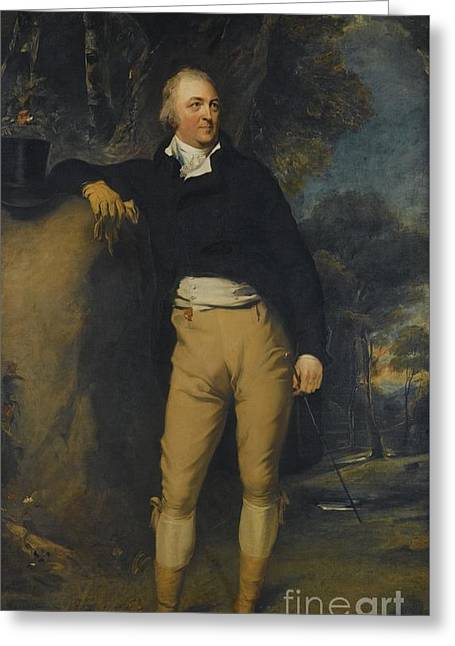 Portrait Of Thomas Lister Greeting Card