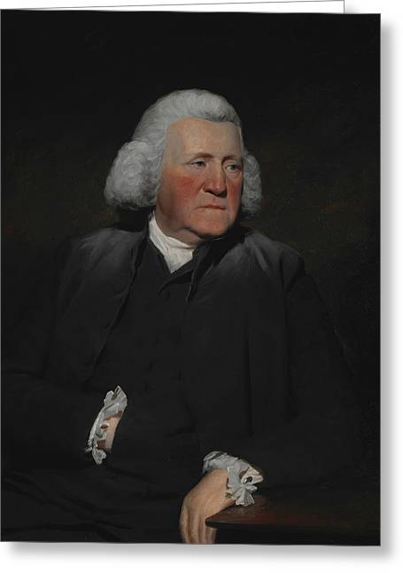 Portrait Of Thomas Wood Greeting Card by Henry Raeburn