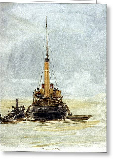 Portsmouth Greeting Card by William Lionel
