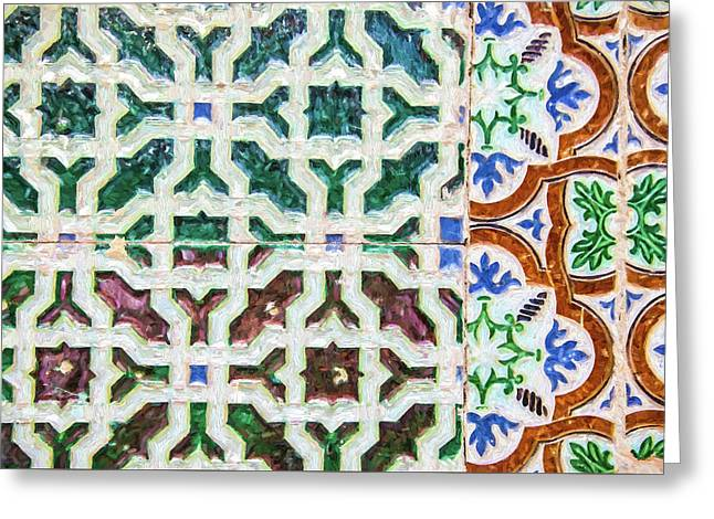 Portuguese Handmade Tile Greeting Card