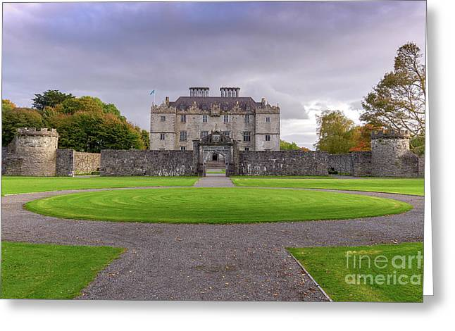 Portumna House  Greeting Card
