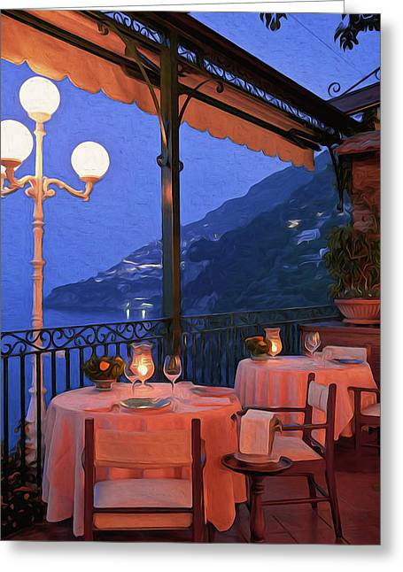 Positano, Beauty Of Italy - 05 Greeting Card