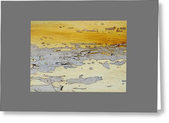 Possum Abstract Landscape 3 Greeting Card