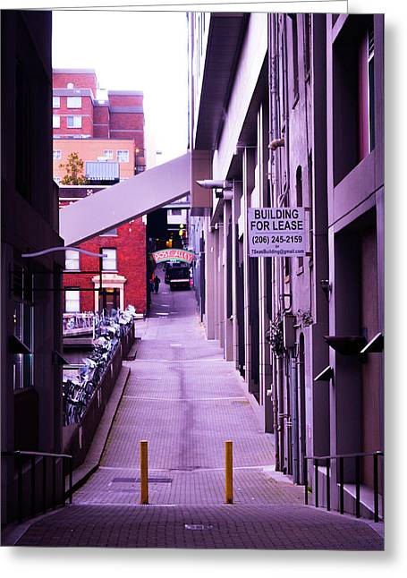 Post Alley, Seattle Greeting Card