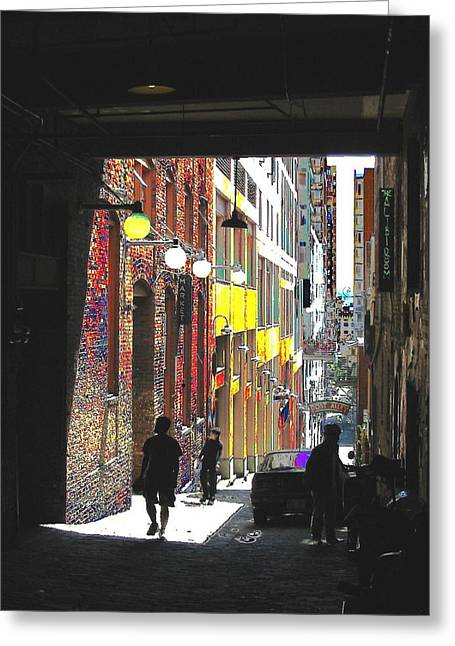 Tim Allen Greeting Cards - Post Alley Greeting Card by Tim Allen