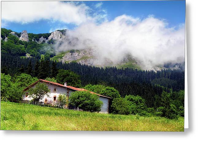 Postcard From Basque Country Greeting Card
