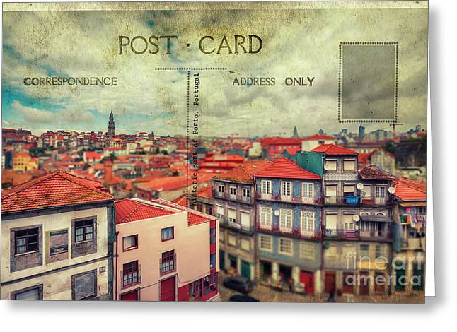 postcard of Porto Greeting Card
