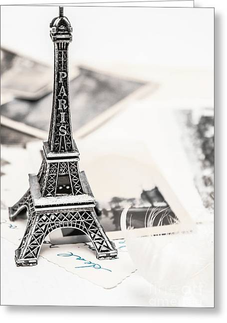 Postcards And Letters From Paris Greeting Card