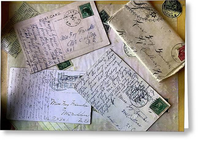 Postcards And Proposals Greeting Card
