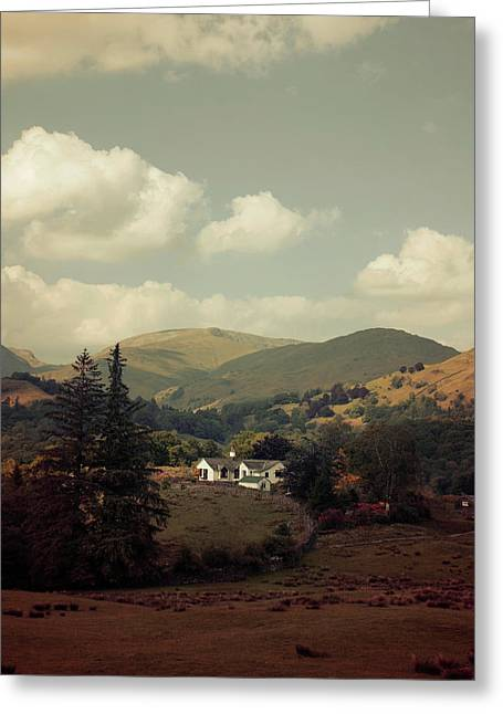 Postcards From Scotland Greeting Card by Jaroslaw Blaminsky
