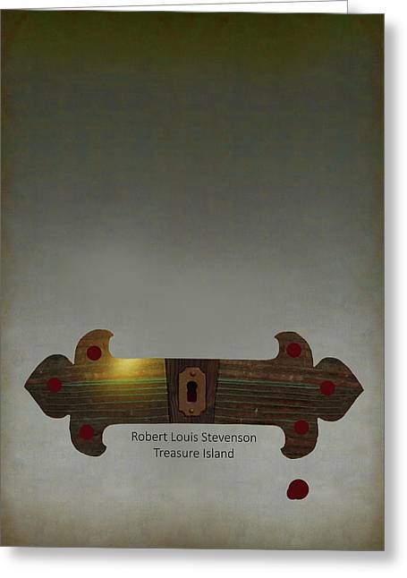 Poster For Stevenson's Treasure Island Greeting Card