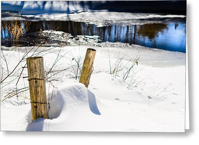 Posts In Winter Greeting Card
