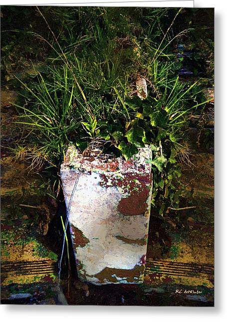 Pot Forgot Greeting Card by RC deWinter