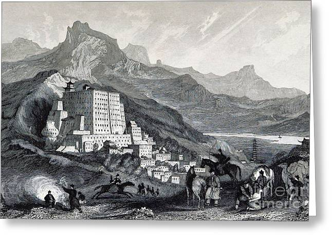 Potala Palace, 19th Century Greeting Card by British Library