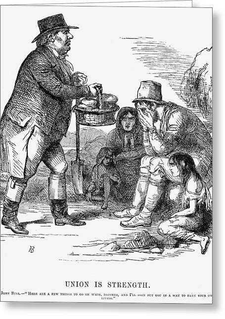 Potato Famine, 1846 Greeting Card by Granger