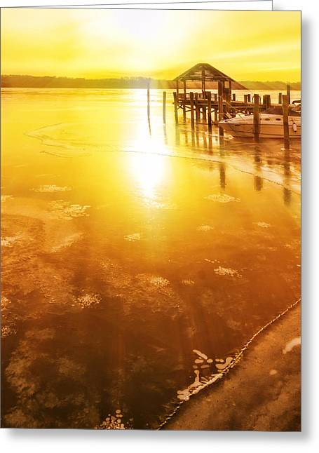Potomac In Old Town Alexandria Greeting Card