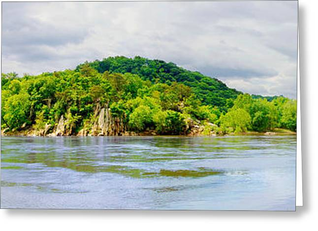 Potomac Palisaides Greeting Card by Francesa Miller