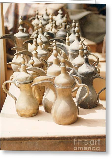Pots For Sale Greeting Card