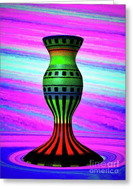 Pottery 1 Greeting Card by Billy Bateman