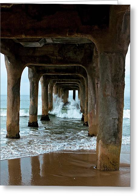 Pounded Pier Greeting Card