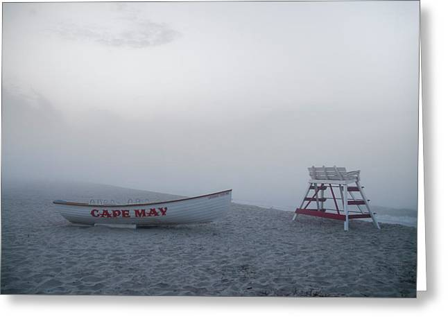 Poverty Beach - Cape May New Jersey Greeting Card