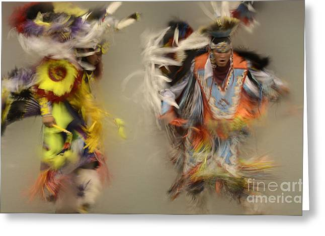 Pow Wow Beauty Of The Dance 1 Greeting Card