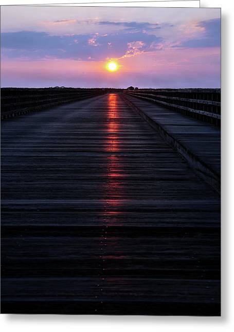 Powder Point Bridge  Greeting Card