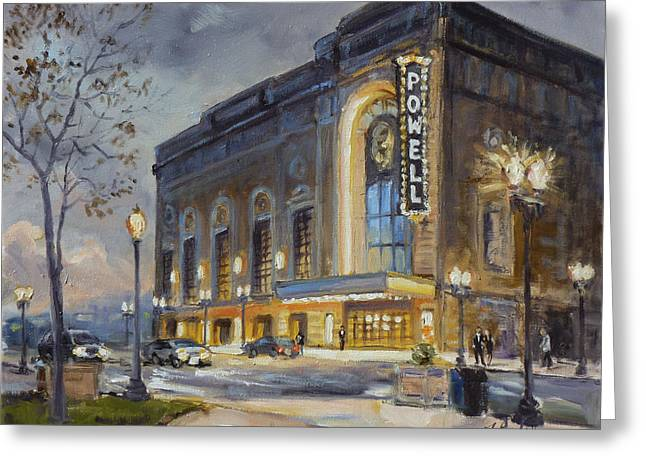 Powell Symphony Hall In Saint Louis Greeting Card