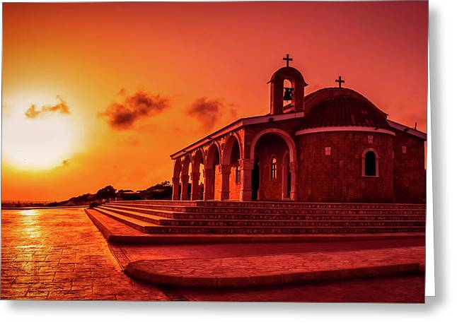 Power And Grace Greeting Card by Demitris Vetsikas