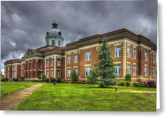 Power House 2 Putnam County Court House Greeting Card by Reid Callaway
