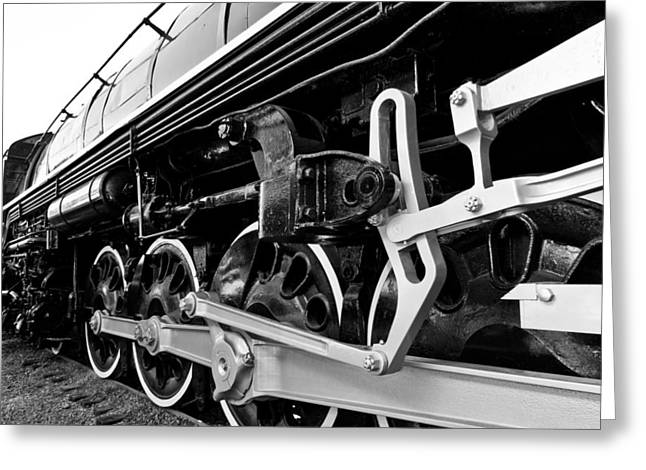 Power In The Age Of Steam Greeting Card by Dan Dooley