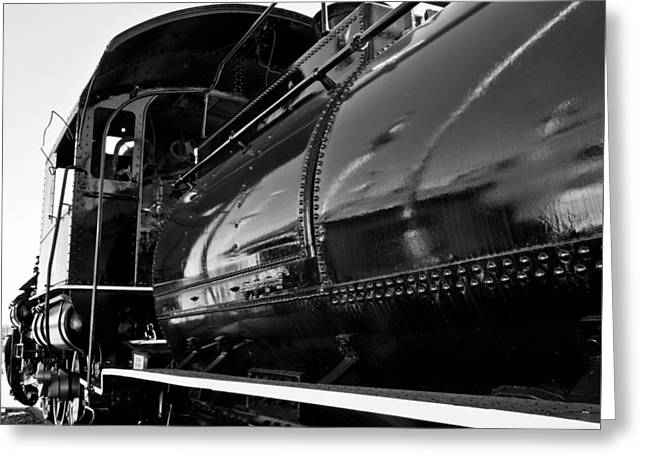 Power In The Age Of Steam 5 Greeting Card by Dan Dooley