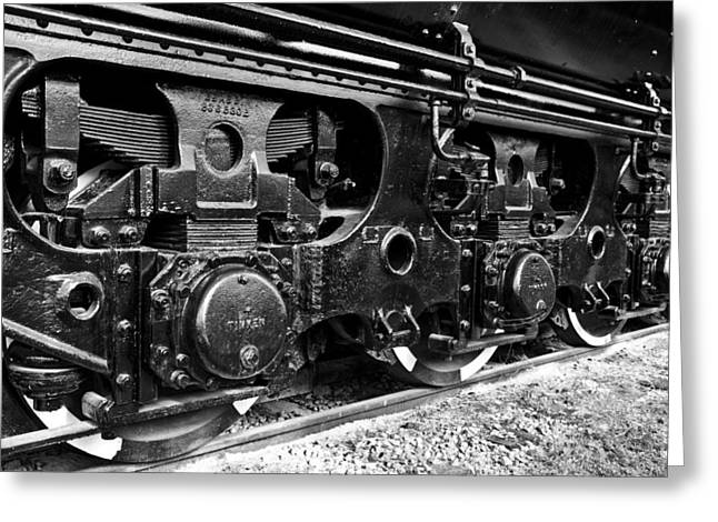 Power In The Age Of Steam 6 Greeting Card by Dan Dooley