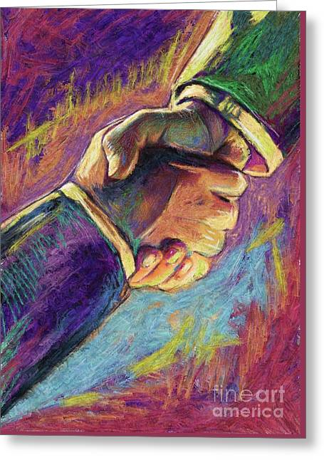 Power Of Unity Greeting Card by Julianne Black