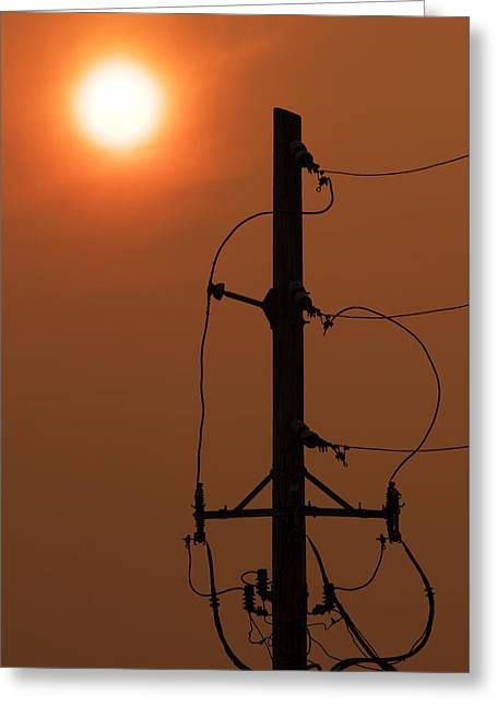 Power Up Greeting Card by Don Spenner