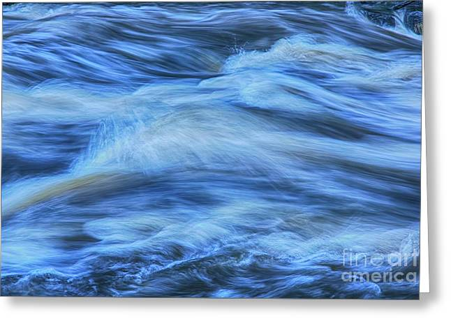 Powerful Flow 3 Greeting Card