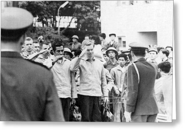 Pows To Leave Hanoi Greeting Card