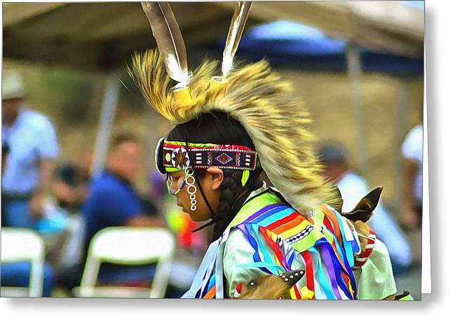 Powwow 1 Greeting Card